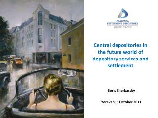 Central depositories in the future world of depository services and settlement