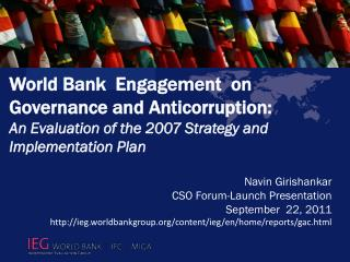 Navin Girishankar CSO Forum-Launch Presentation September  22, 2011