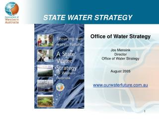 STATE WATER STRATEGY