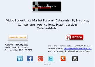 Video Surveillance Market Forecasts and Analysis