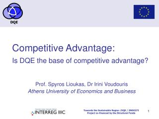Competitive Advantage: Is DQE the base of competitive advantage
