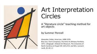 Art Interpretation Circles