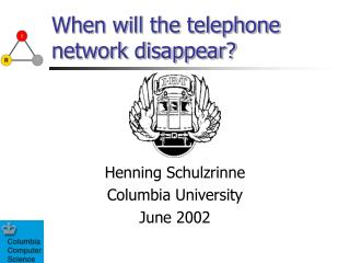 When will the telephone network disappear?