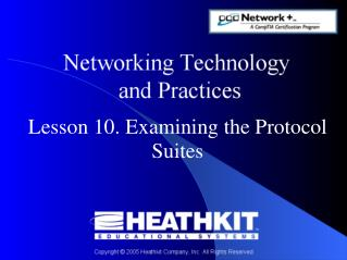 Lesson 10. Examining the Protocol Suites