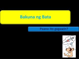 Bakuna ng Bata