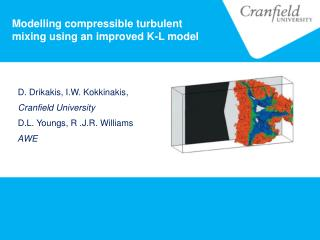 Modelling compressible turbulent mixing using an improved K-L model