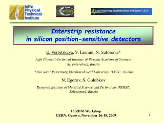 Inter strip  resistance  in silicon position-sensitive detectors