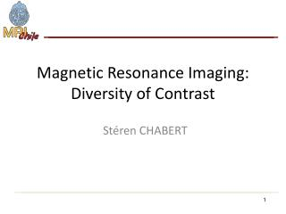 Magnetic Resonance Imaging: Diversity of Contrast