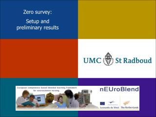 Zero survey: Setup and  preliminary results