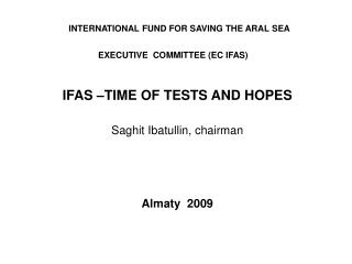 EXECUTIVE  COMMITTEE (EC IFAS)