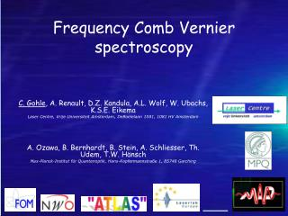 Frequency Comb  Vernier  spectroscopy
