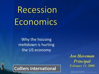 Recession Economics