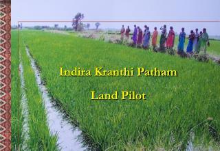 Indira Kranthi Patham Land Pilot
