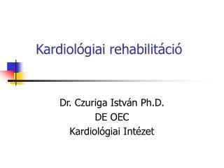 Kardiol giai rehabilit ci