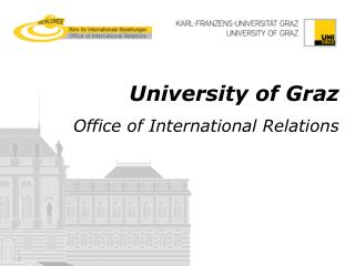 University of Graz Office of International Relations