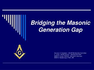 Bridging the Masonic Generation Gap