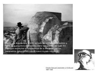 Charles Edouard Jeanerette  Le Corbusier 1887-1965