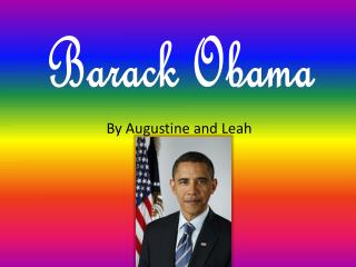 By Augustine and Leah