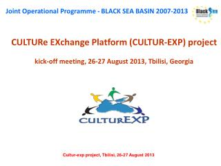 CULTURe EXchange Platform (CULTUR-EXP) project