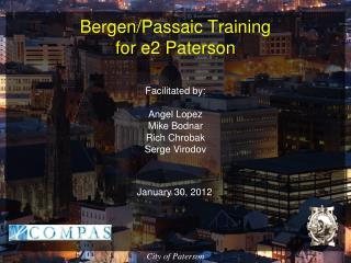 Bergen/Passaic Training  for e2 Paterson