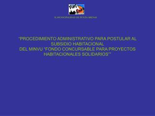 IL.MUNICIPALIDAD DE PUNTA ARENAS