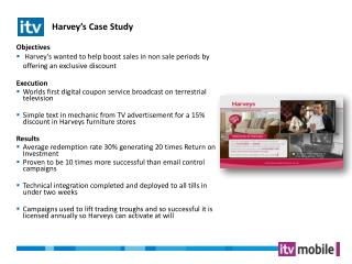 Harvey�s Case Study