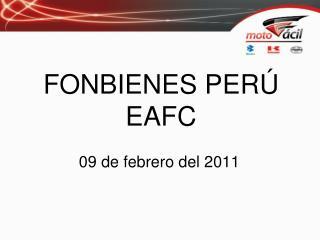 FONBIENES PER� EAFC