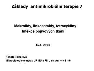 Z�klady  antimikrobi�ln� terapie 7