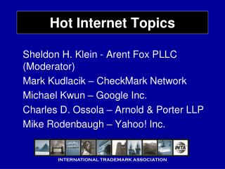 Hot Internet Topics