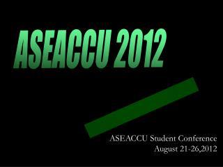 ASEACCU 2012