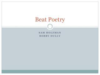Beat Poetry