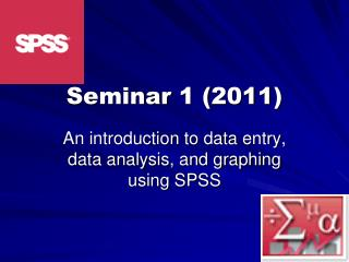 Seminar 1 ( 2011)