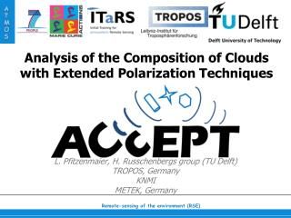 Analysis of the Composition of Clouds with Extended Polarization Techniques