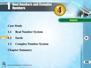 Real Numbers and Complex Numbers