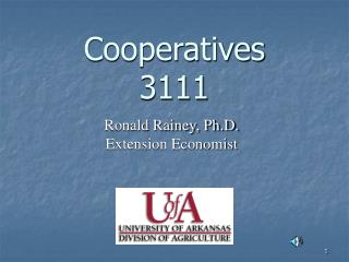 Cooperatives 3111