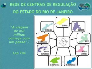 REDE DE CENTRAIS DE REGULA  O DO ESTADO DO RIO DE JANEIRO