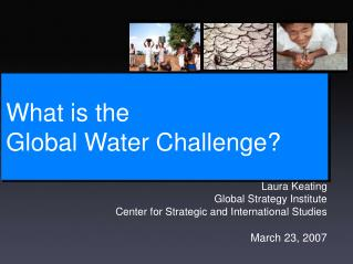 What is the  Global Water Challenge?