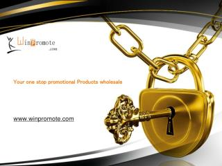 Buy Promotional Items Now