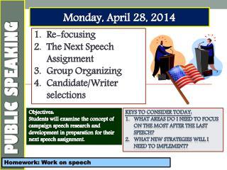 Monday, April 28,  2014