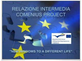 RELAZIONE INTERMEDIA COMENIUS PROJECT