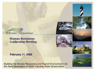 Human Resources Leadership Meeting