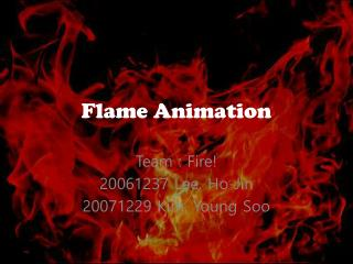 Flame Animation
