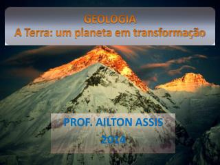 PROF. AILTON ASSIS 2014