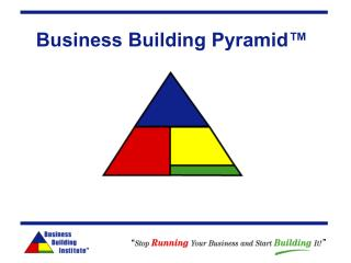 Business Building Pyramid�