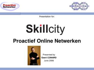 Presentation for: Proactief Online Netwerken