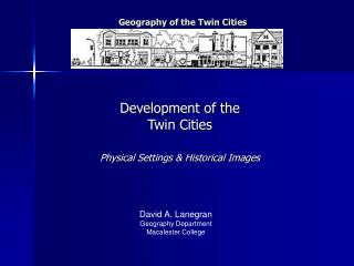 Geography of the Twin Cities