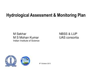 Hydrological Assessment & Monitoring Plan