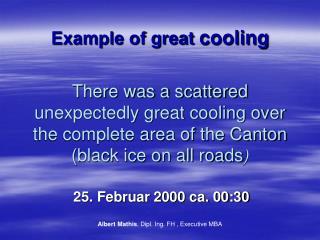 25. Februar 2000 ca. 00:30