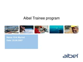 Aibel Trainee program
