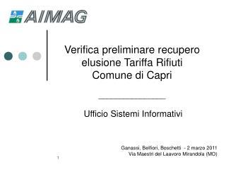 Ganassi, Belfiori, Boschetti  - 2 marzo 2011  Via Maestri del Laavoro Mirandola (MO)